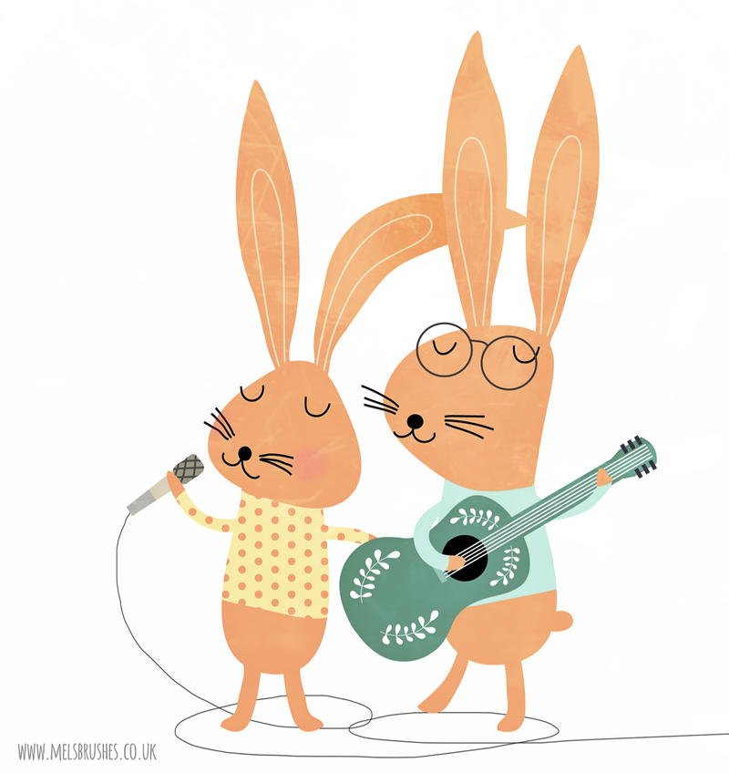 Rabbit Band by melemel
