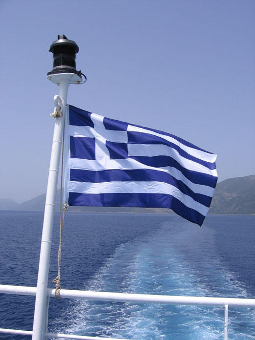 Hooray for Greek ferries by melemel