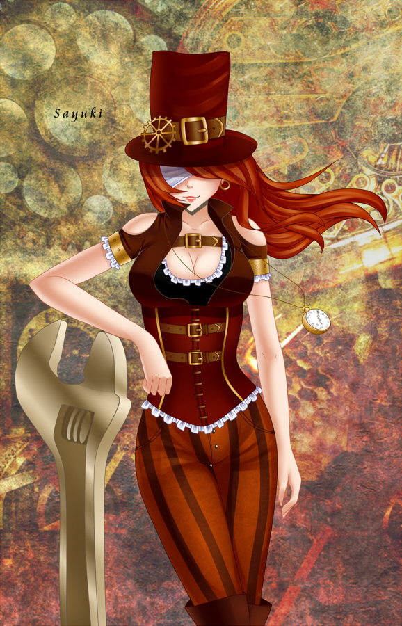 Steampunk by Sayuki-hime