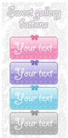 Sweet Gallery Buttons (7 colors)