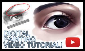 Tutorial - How to paint a semi-realistic eye by Sayuki-Art