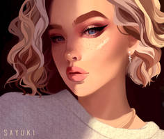 Portrait study by Sayuki-Art