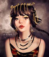 Chinese Princess (+ Speedpaint in description!) by Sayuki-Art