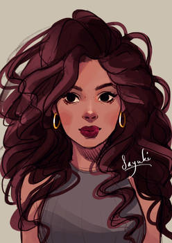 Curls (+speedpaint in description)