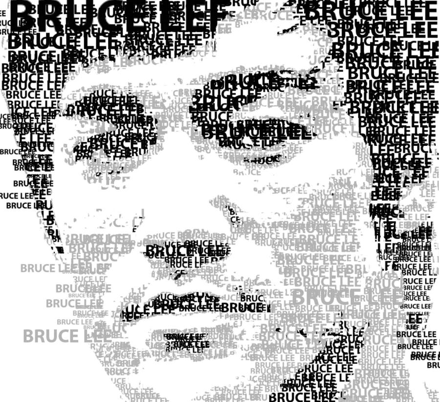 Bruce Lee by FKX1337