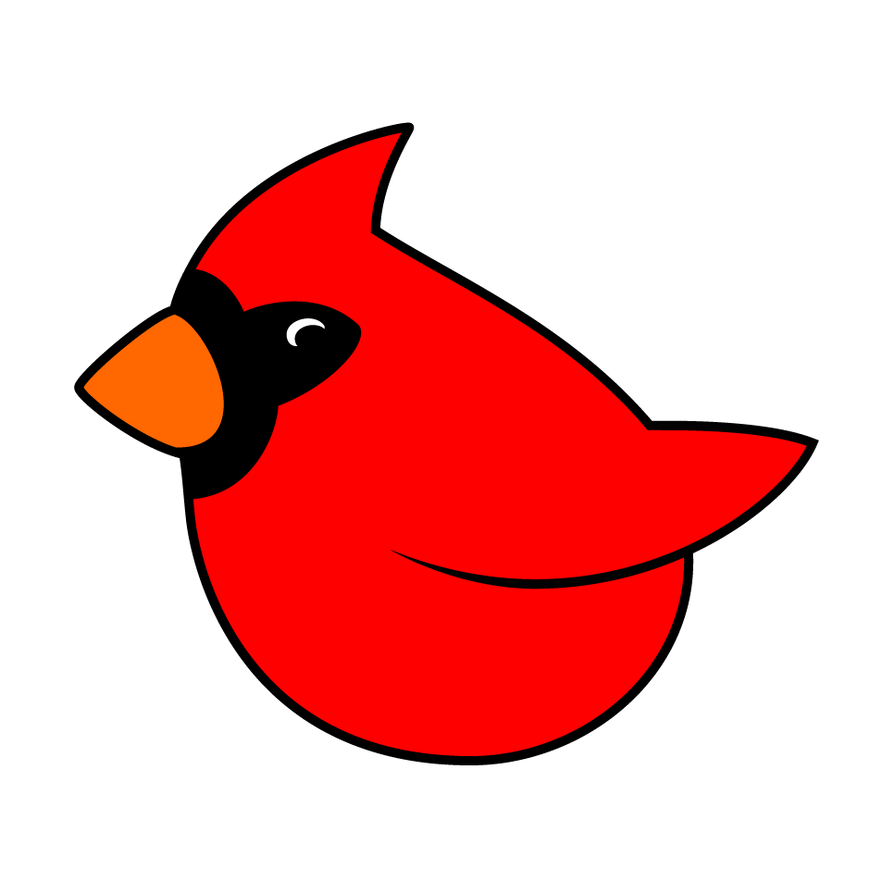 Cardinal Graphic Design by Raenm