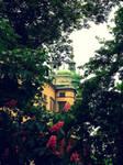 In the royal garden