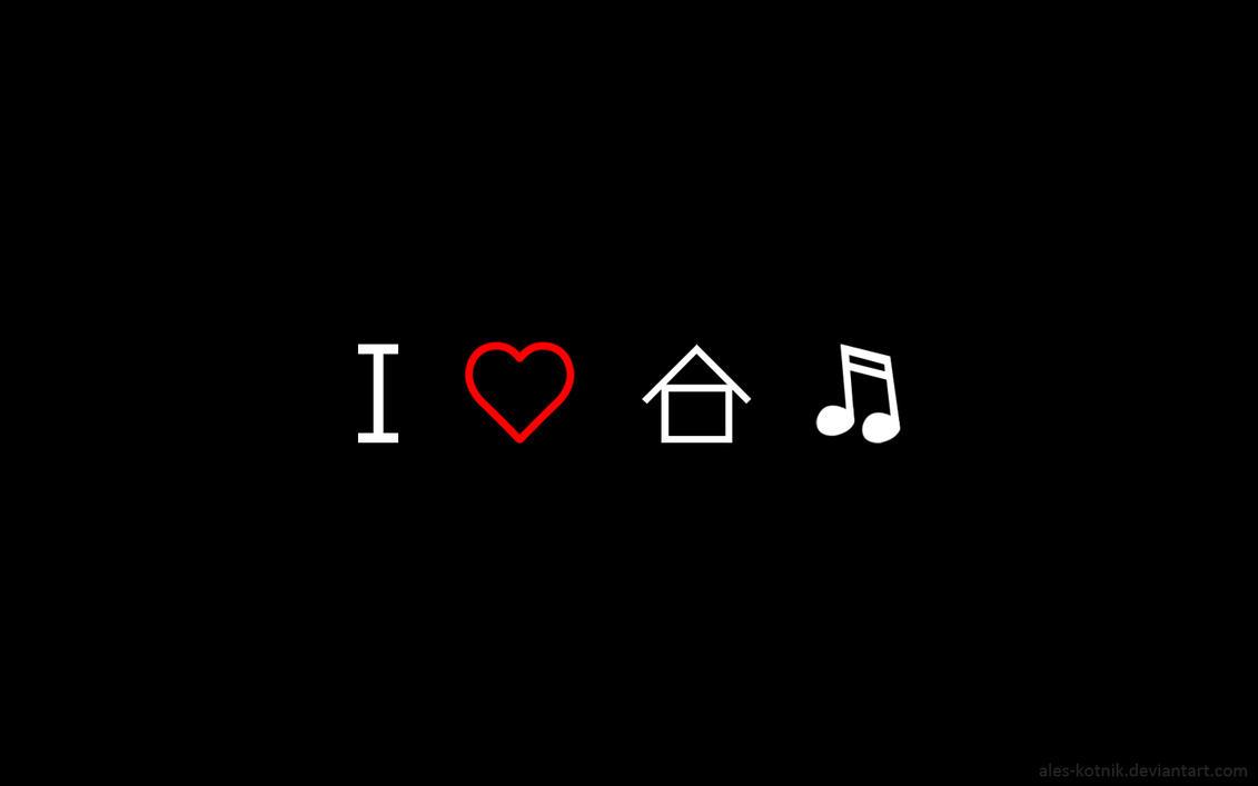 I love house music by ales kotnik on deviantart for House music art