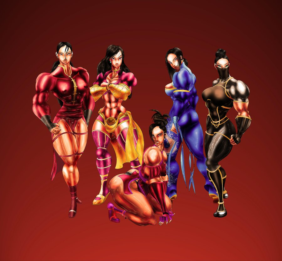 The Ladies of The Jade Empire by muscle82002