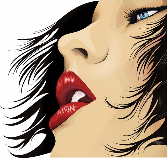 her lip by rustamzade