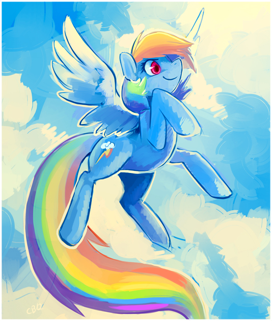 Rainbow by CaramelBrulee