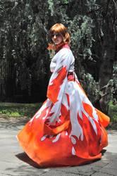 TRC - Sakura - Flame kimono by Herentas