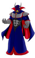 Evil Emperor Zurg by thisisevermore