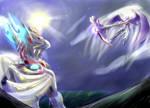 Metal Moon Dragon xO