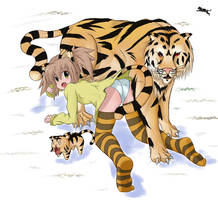 Zodiac Tiger by Drako9