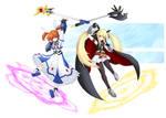 Nanoha and Fate SET UP