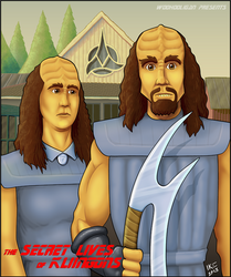Secret Lives of Kliingons Cover by woohooligan