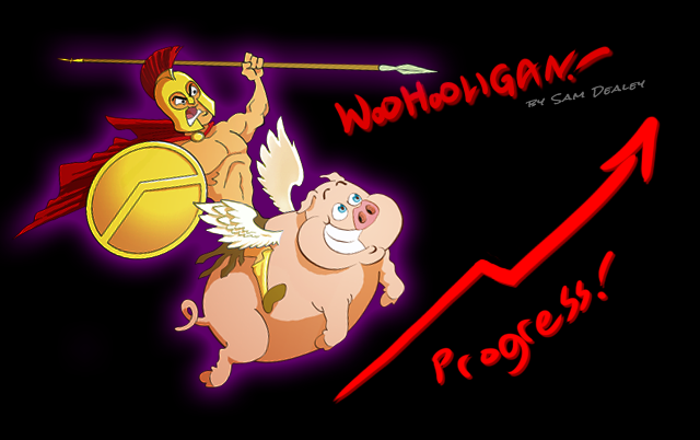 ProgressReport banner by woohooligan