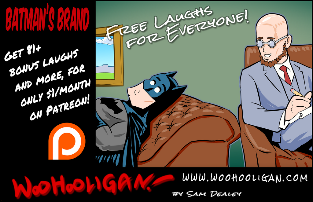 The Batman Brand by woohooligan