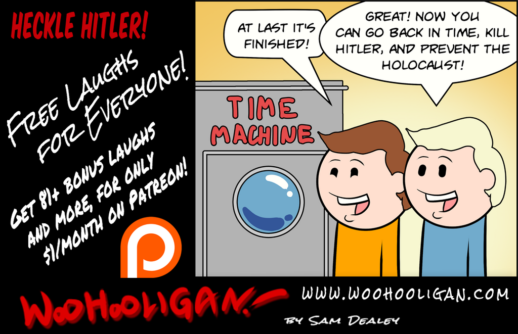 Heckle Hitler by woohooligan