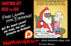 Christmass Gifts for 2016! by woohooligan