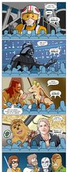 Star Wars Fan Theories by woohooligan