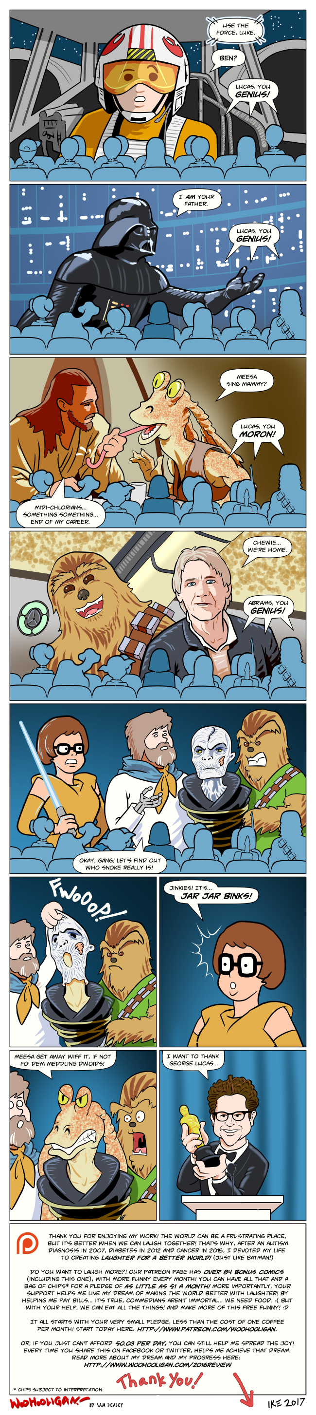 Star Wars Fan Theories by woohooligan