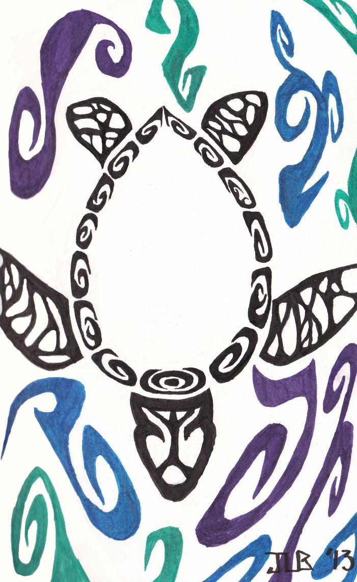 Tribal Sea Turtle Tattoo by ArtsyRobotz on DeviantArt
