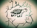 Turtle Tattoo Idea 2 by ArtsyRobotz