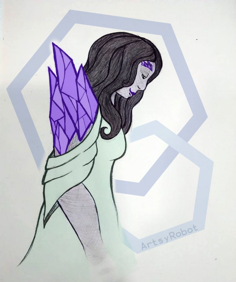 Gem Girl by ArtsyRobotz
