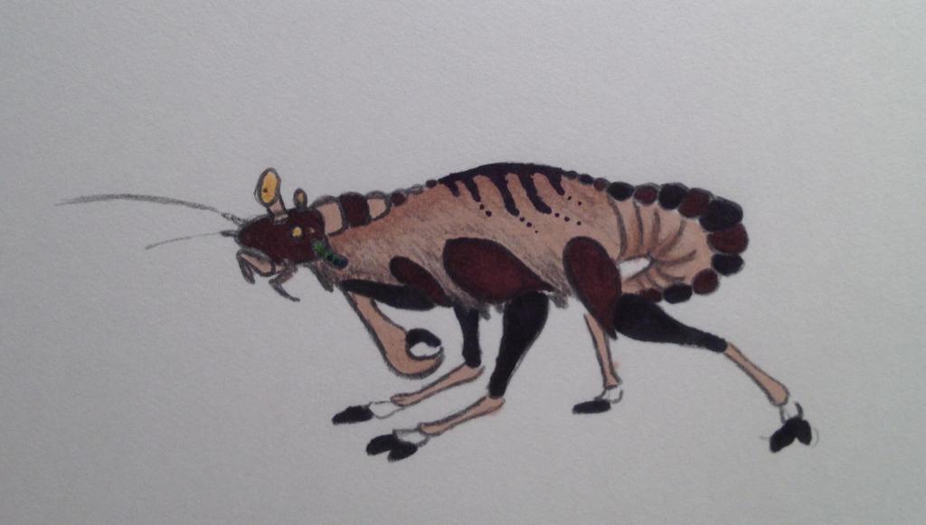 Small arthropoid carnivore by EpicEiniosaurus on DeviantArt