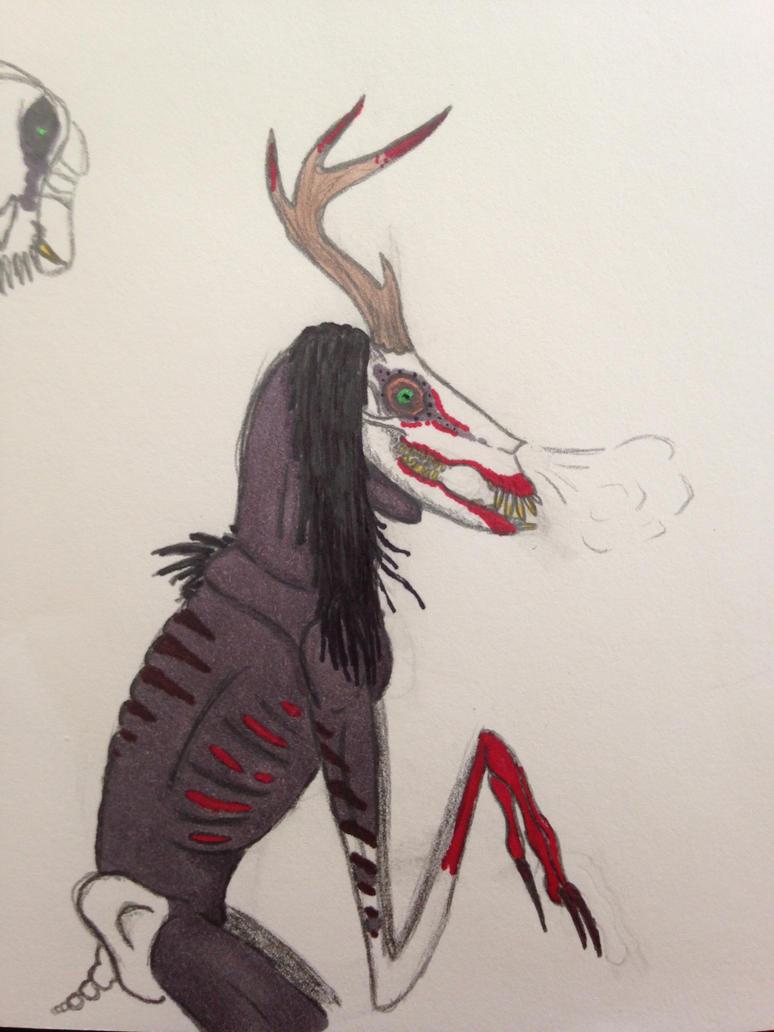 Beware the Wendigo... by EpicEiniosaurus