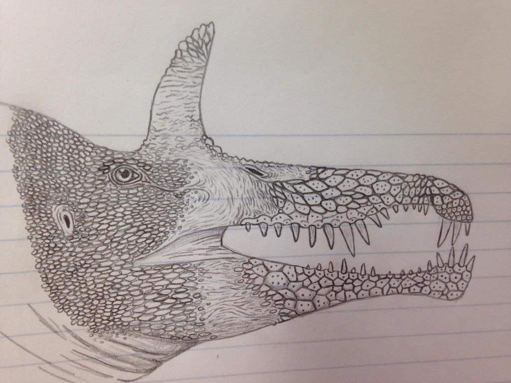 Egyptian croc mimic  by EpicEiniosaurus