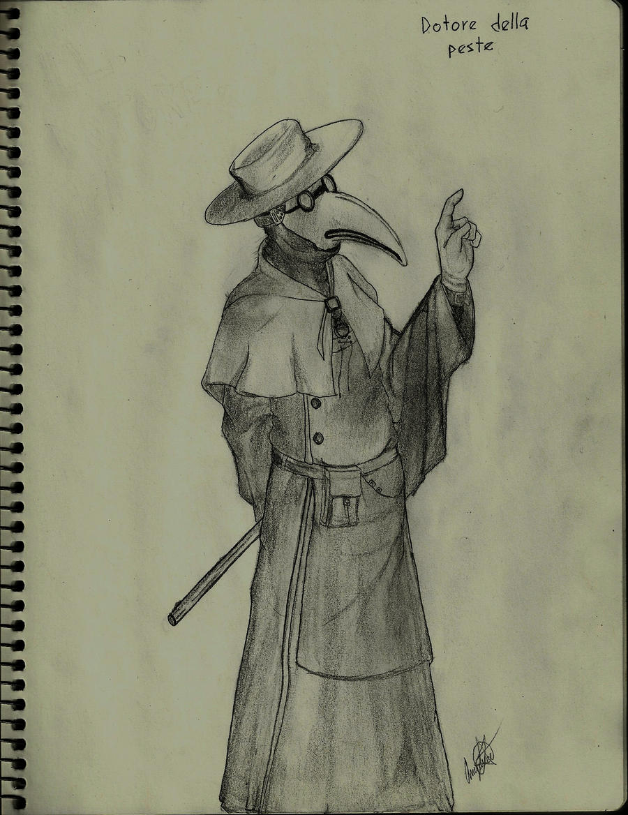 Doctor de la peste by LadySylvanaz