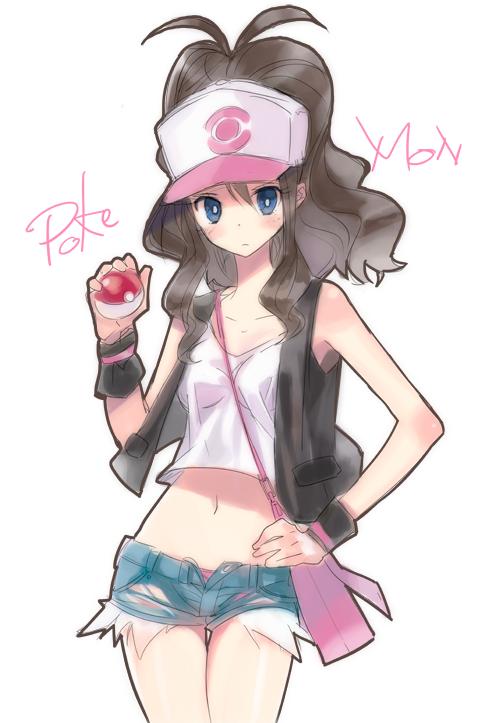 Pokemon BW rakugaki by lunaticjoker