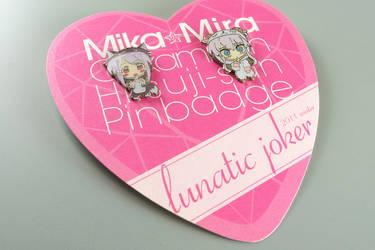 Mika Mira PinBadge by lunaticjoker