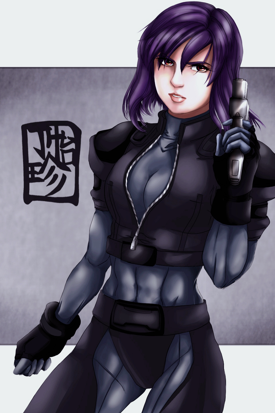 Ghost In The Shell Major Motoko Kusanagi Try Out By Clrt On Deviantart