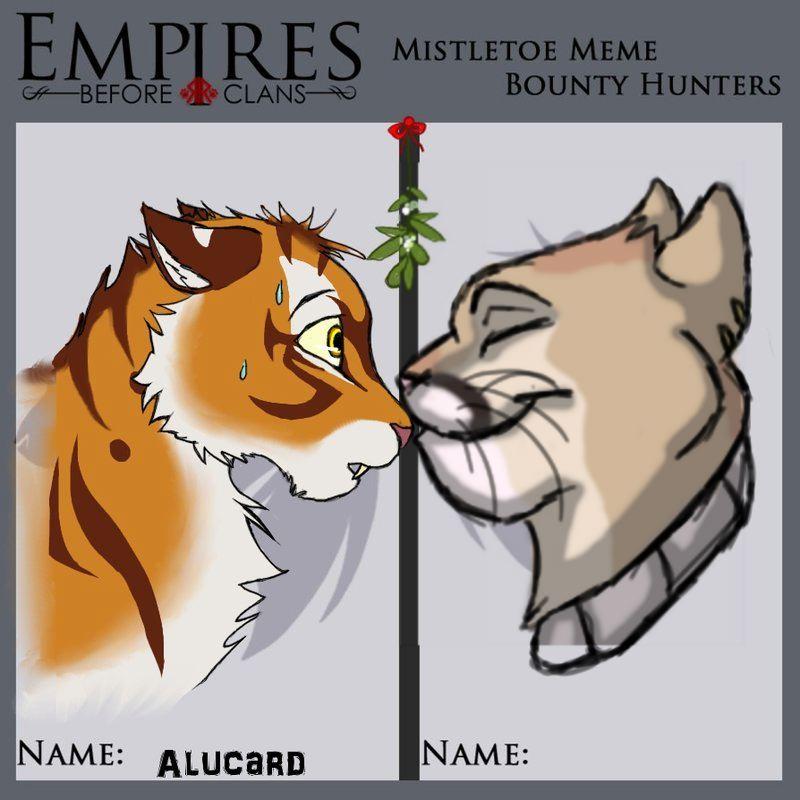 Mistletoe meme alucardxjuno by pedropoliss
