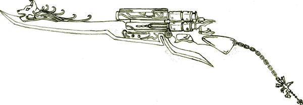 Cerberus Keyblade by Denecron01
