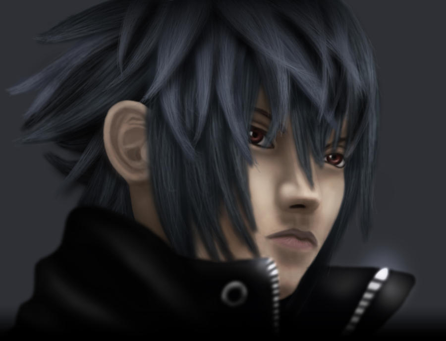 Noctis PS2 Style by Kendecia