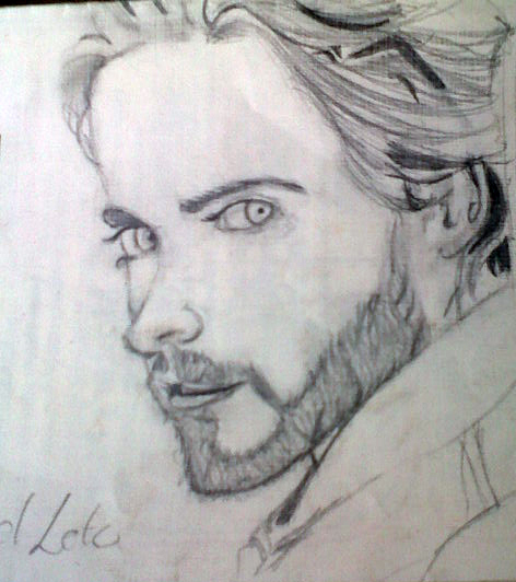 Jared Leto by Kendecia