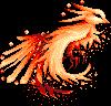 Pixel Phoenix by NightGolem