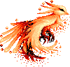 Pixel Phoenix by NightGolem