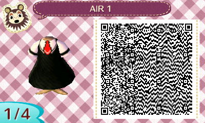 QR code for animal crossing new leaf Air by PikaChuChuK-on