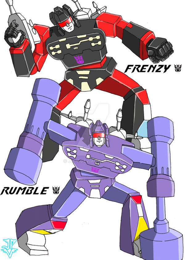 transformers rumblefrenzy by jpv on deviantart
