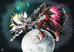 Tekkaman Blade VS Tekkaman Saber