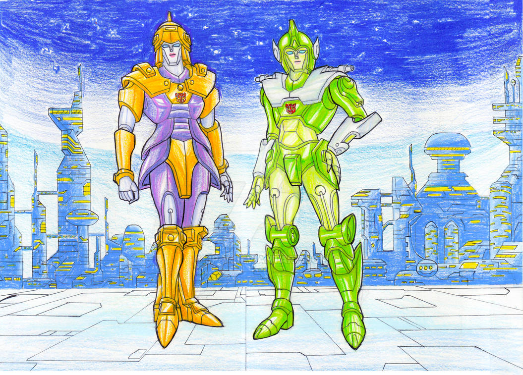 Lancer and Greenlight by JP-V