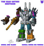 The War Within - Bruticus - Design + Colours