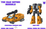 The War Within - Swindle - Design + Colours