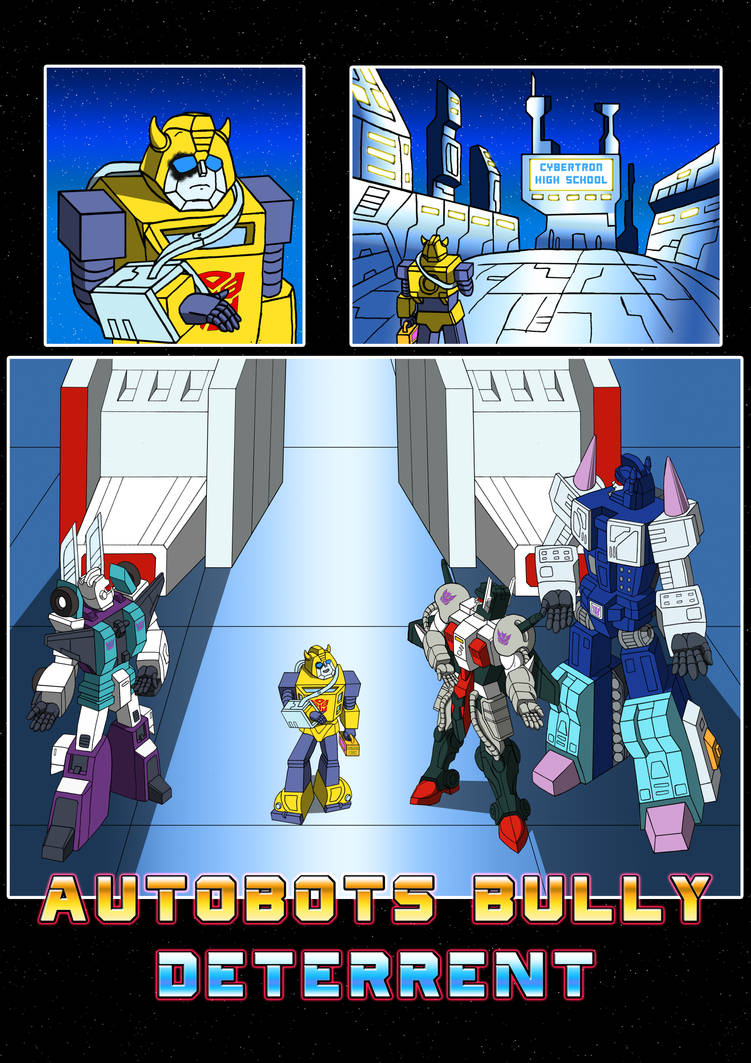Commission: Autobots Bully Deterrent